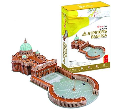 Puzzle 3D Basílica de San Pedro (MC092h)