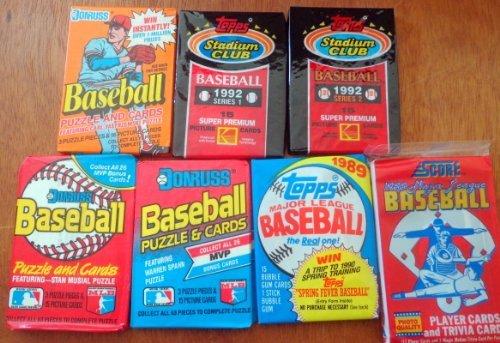 1988, 1989 Donruss 100+ Vintage Baseball Cards