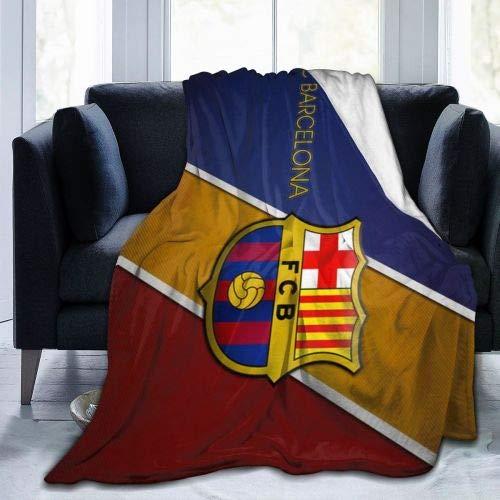 N/A Viaje Alfombra,Manta De La Siesta,Franela Sherpa,Manta De Felpa,FC Barcelona Mantas De...