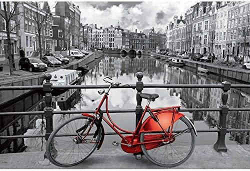 Brand LT1000 PCS Puzzles , Familienspielzeug, Holländisches Fahrrad, Pädagogisches Intellektuelles Dekomprimierungsspiel Für Kinder Erwachsene