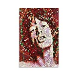 Heiwu Mick Jagger - Póster decorativo para pared (50 x 75 cm)