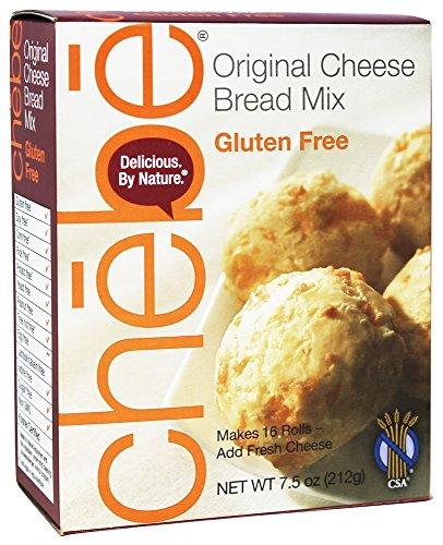 Chebe Bread Original Cheese Bread Mix, Gluten Free,7.5 Oz Bags,2 Pack
