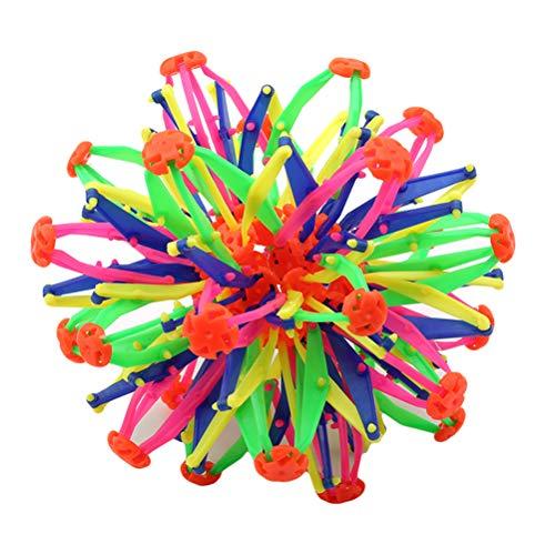 Tianlun Expandierender Magischer Ball Plastischer Expandierender Magischer Ball Expandierender Ball Einziehbarer Veränderbarer Magischer Ball Handfangball Jungen Mädchen Blumenkugeln