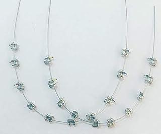 Ortho Brackets Purple chain