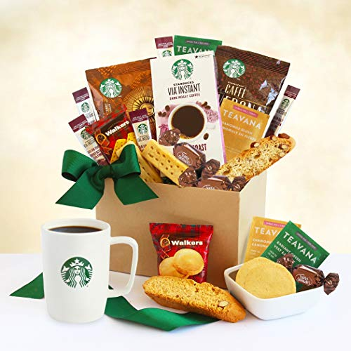 A Delicious Duo! Coffee and Tea Gourmet Gift Basket