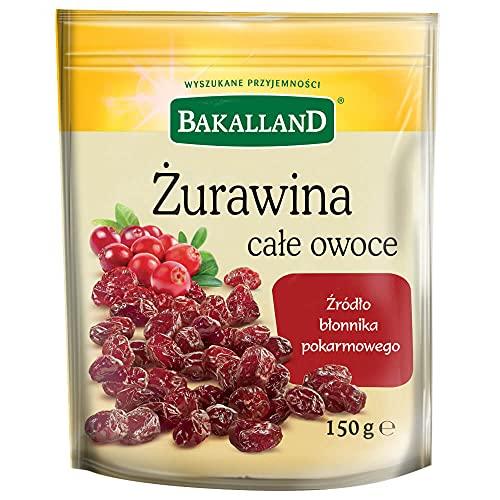 Bakalland Żurawina Całe Owoce, 150 g