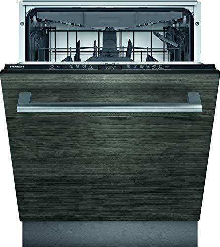 Siemens Lavavajillas totalmente integrado SN73HX60CE iQ300, D, 85 kWh, 14 MGD, compatible con Smart Home Connect, varioSpeed Plus, varioScharnier, rackMatic en la cesta superior.