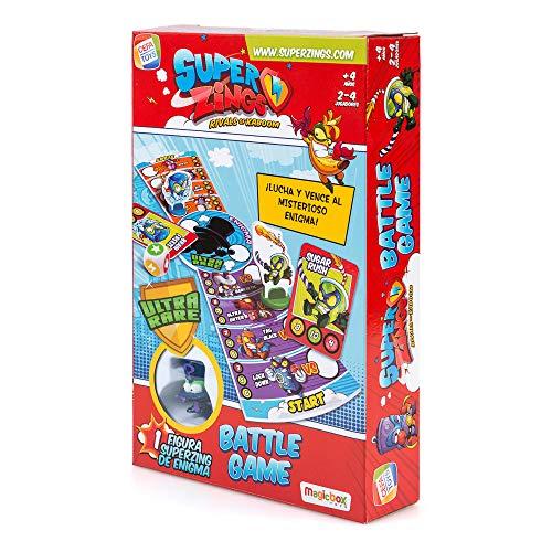 SuperZings- Enigma Juego de Mesa Batt Game Castellano, Multicolor, Talla Única (Cefa...