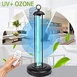 UHAPEER Lámpara De Esterilización UV Ozono Germicida Ultravioleta Portátil...