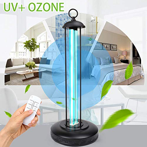 UHAPEER Lámpara De Esterilización UV Ozono Germicida