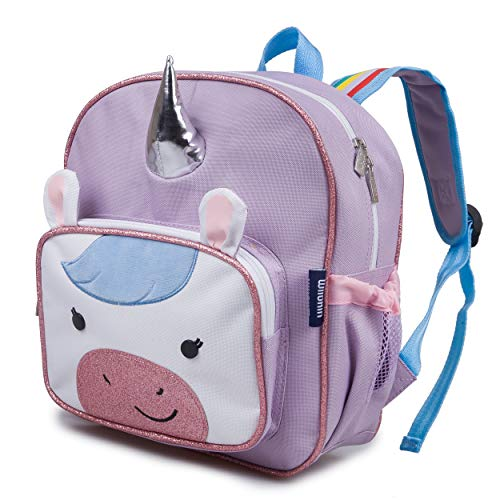 Wildkin Wild Bunch Backpack for Toddler Boys & Girls, Ideal Size for Daycare, Preschool, & Kindergarten, Perfect for School and Travel, Kids Backpacks Measures 11.75 x 10 x 4.25 Inches (Unicorn)