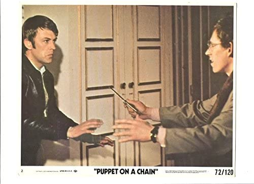 MOVIE Over item handling ☆ PHOTO: We OFFer at cheap prices PUPPET ON A PROMO STILL-MAN CHAIN-8x10 MAN ATTACKS