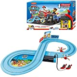 Carrera- Paw Patrol-On The Track Juego con Coches, Multicolor
