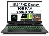 Newest HP Pavilion 15.6' FHD Gaming Laptop, AMD 3rd Gen 6-Core Ryzen 5 4600H(Up to 4.0Ghz), NVIDIA GeForce GTX 1650, 8GB DDR4 RAM, 256GB SSD, B&O Audio, Backlit Keyboard, HDMI, Windows 10+AllyFlex MP