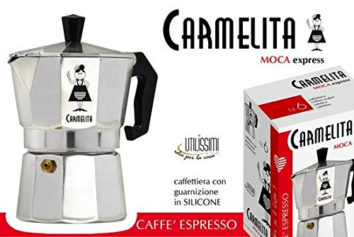 JUV/ MOKA CAFFETTIERA 2 TAZZE CARMELITA