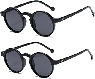 Long Keeper - Gafas de sol Redondas Vintage Hombre y Mujer