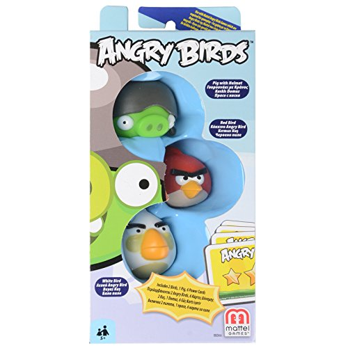 Mattel Angry Birds Red Bird, Gray He