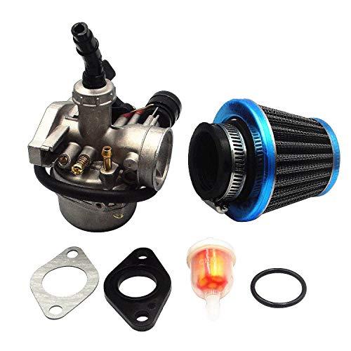 PZ19 ATV Carburetor with 35mm Air Filter Fuel Filter for Taotao ATV Dirt Pit Bike Honda CRF By LIAMTU 50cc 70cc 80cc 90cc 110cc 125cc