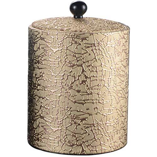 SATIC Cubo de Hielo de Acero Inoxidable de 1.3L Cubo de Hielo de Cuero Estilo Europeo Bar Vino Tinto Vino KTV Suministros Cubo de ChampáN, A