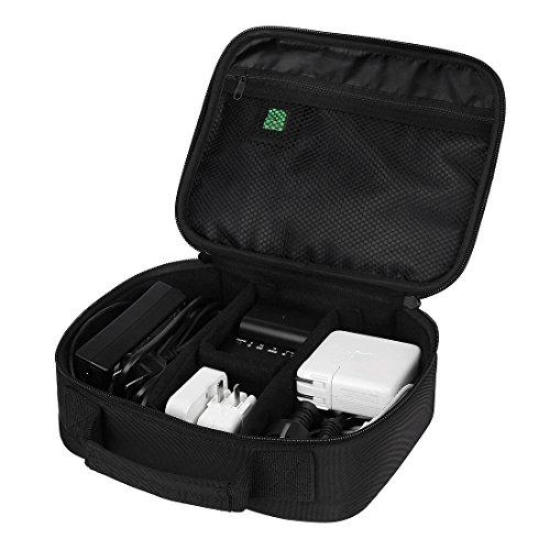 BAGSMART Accessori da Viaggio Custodia Organizzatore Portatile Accessori Elettronici Viaggio Universale Cavo Organizzatore Elettronica Accessori