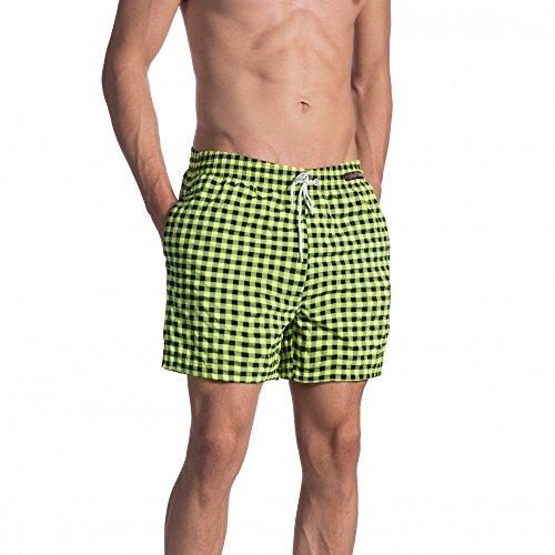 Olaf Benz - BLU1660 Shorts - Fb. check citro - Gr. M - limitierte Kollektion