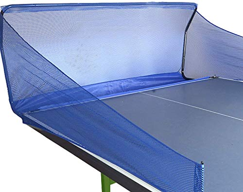 Yaegoo Table Tennis Ball Catch Net Ping Pong Table Tennis Catcher Net - Portable Ball Catch Netting - Serve and One Player Training Practice Set - Compatible with Robot Trainer Equipment