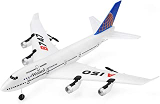 Remote Control Airplane | 2.4Ghz 3 Channels RC Plane Ready to Fly with Safe Technology | Glider Aircraft Stability Flight RC Aircraft for Beginner (1PC White RC Airplane RTF)