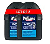 Williams Lectric Shave Loción - 2 Paquete de 100 ml - Total: 200 ml