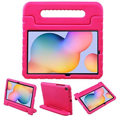 LEADSTAR Protettiva Custodia per Samsung Galaxy Tab S6 Lite 10.4 inch 2020, Eva Bambini Antiurto Leggero Protettiva Maniglia Cover con Supporto per Bambini per Tablet SM-P610 / SM-P615 (Rosa)