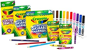 80-Piece Crayola Back To School Supplies Art Set