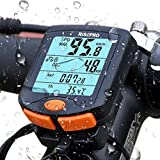 Bike Computer, RISEPRO Wireless Bicycle Speedometer Bike Odometer Cycling Multi Function Waterproof 4