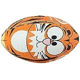 OPTIMUM Ballon de Rugby, Tigre, Mini Unisex-Youth, Multicolore