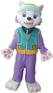 Everest Paw Patrol Costume Adult Size Paw Patrol Mascot Costume Paw Patrol Mascot Costume for Adults