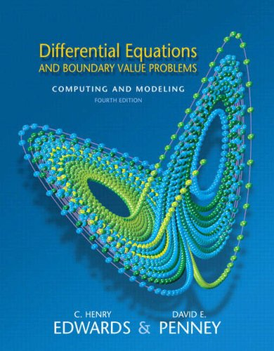 Differential Equations and Boundary Value Problems:...