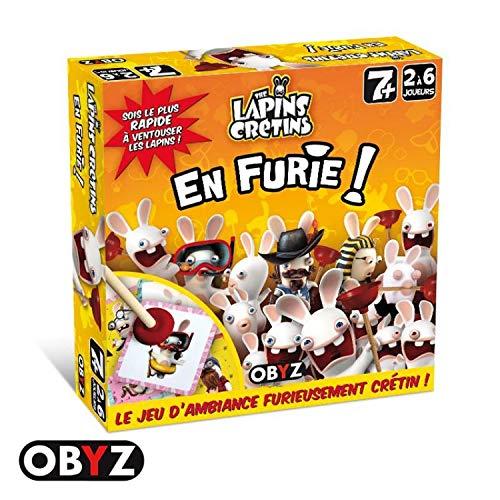 Lapins Crétins- Jeu d'ambiance Furie, 604602