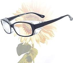 Safety Glasses Anti Fog for Men Women Anti Pollen Safety Goggles UV400 Protection Black
