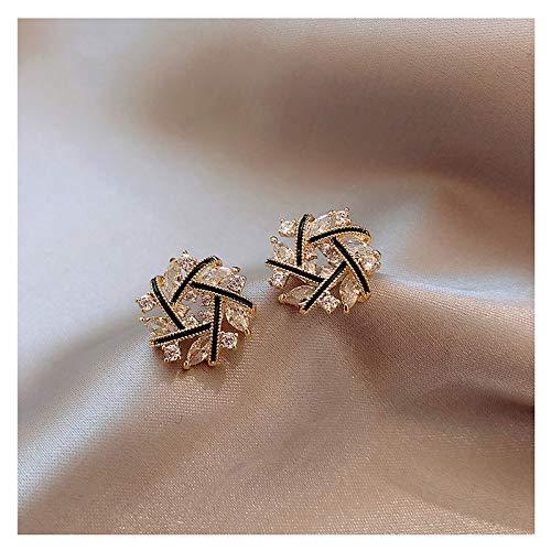 Earrings High-end Design Atmosphere Earrings Female New Personality Earrings Korean Temperament Net Red Earrings Trend Ear Stud Jewelry