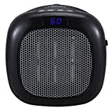 Best Hunter Ceramic Heaters - HUNTER 750W Wall Mount Space Heater with Remote Review