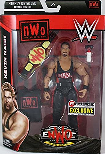 NWO WOLFPAC KEVIN NASH - RINGSIDE COLLECTIBLES ELITE FLASHBACK EXCLUSIVE MATTEL WWE TOY WRESTLING ACTION FIGURE by WWE