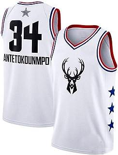 Camiseta De La NBA Para Hombre 2019 All-Star Fan Jersey Traje De Baloncesto Competición