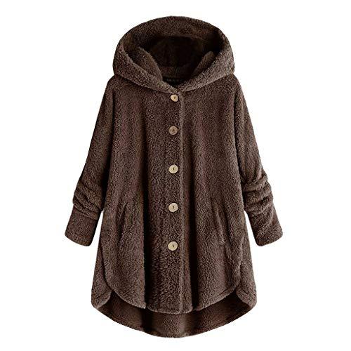 Vrouwen Winter Warm Jas Dames Lange Mouw Effen Kleur Enkele Knop Losse Vest Wol Jas Casual Wild Pluche Tops