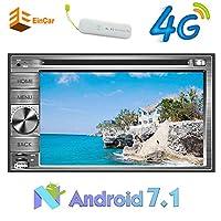 4Gドングルは、ダッシュでのAndroid 7.1カーDVDステレオを含め7インチ容量性タッチスクリーンヘッドユニットGPSナビゲーションAutoradio Bluetoothのサポート無線LAN / 3G OBD/ミラーリンクUSB/SD FM/AM/RDSラジオレシーバ