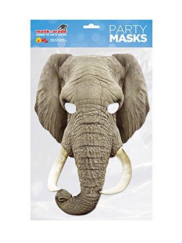 Visage-Masque Éléphant carte, masque arade, personnage usurpation Déguisement