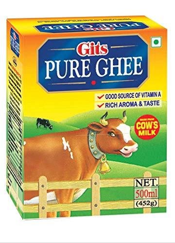 Gits Pure Cow Ghee, 500ml