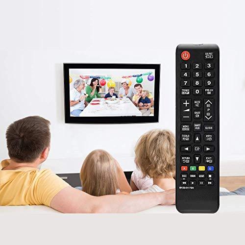 MYHGRC Remplacement Universelle telecommande Samsung BN59-01175N pour télécommande Samsung Smart TV avec Les téléviseurs LCD à LED - Aucune Configuration requise