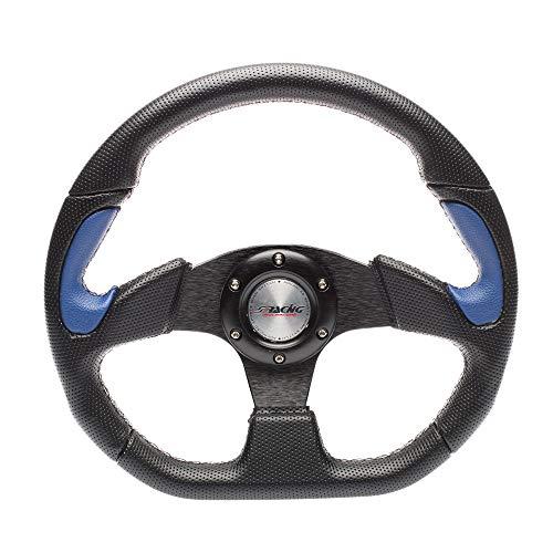 Simoni Racing X2330PUN/PA volante deportivo, Schwarz und Blau