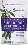 Essential Living Foods Organic Superfood Smoothie Mix, With Mesquite, Lucuma, Pea and Hemp Protein,...