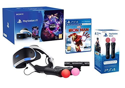 PlayStation VR2 Marvel's Iron Man VR + VR Worlds + Kamera V2 + Twin Move Kontrollers