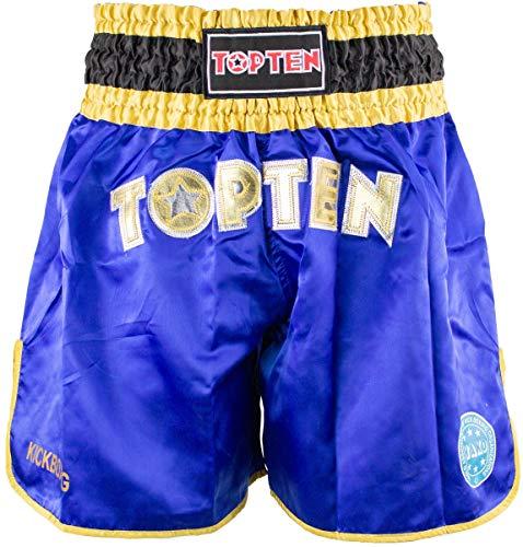 "TopTen Kickbox-Shorts ""WAKO"" - Gr. XL, blau"