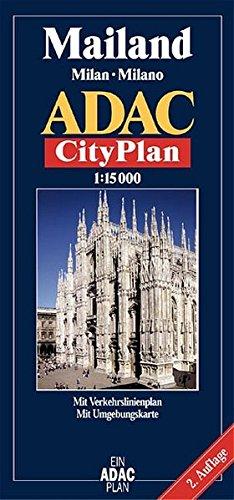 ADAC Stadtpläne, Mailand